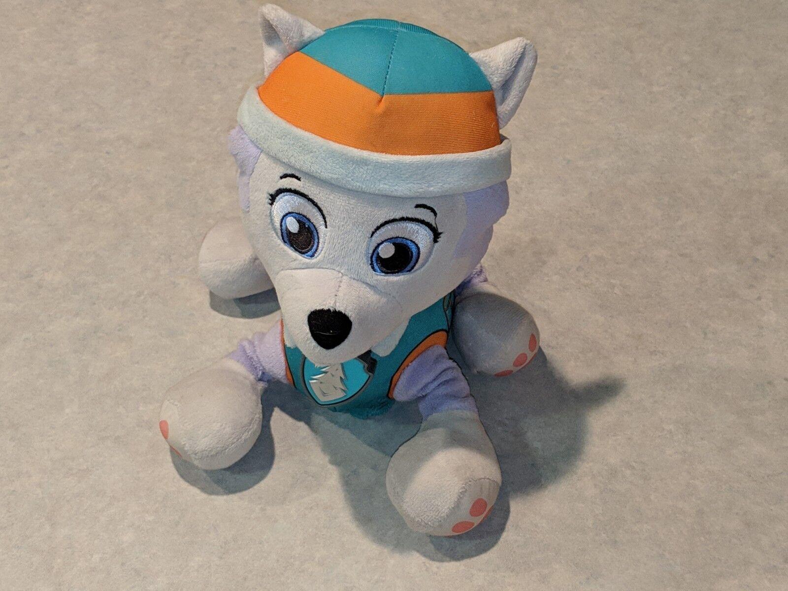 EVEREST PAW PATROL Real Talking Plush Doll Stuffed Animal Dog 2015 Spin Master