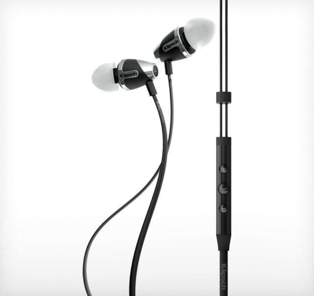 Klipsch Image S4i Ii Black In Ear Headphones Improved Jack