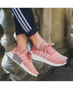 Adidas Womens NMD R2 Primeknit Textile Trainers | Adidas