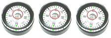 3 x 20mm x 11.8mm Compass / Disc Bubble Spirit Level Round Circular Circle NEW