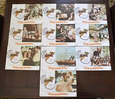 CHITTY CHITTY BANG BANG Lobby Card Set of (10) Dick Van Dyke, Sally Ann Howes