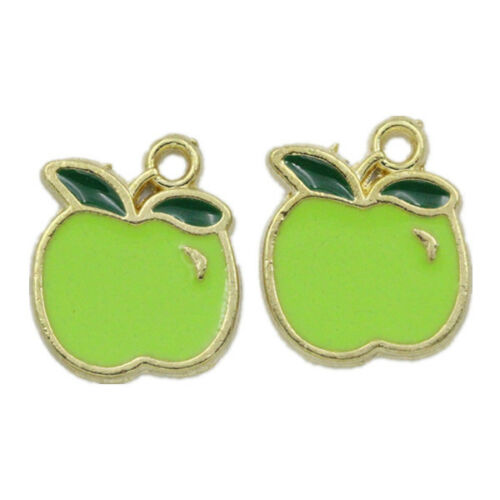 5//50X Fruit Pendants Charms Pendant For DIY Necklace Jewelry Making Hand Craft