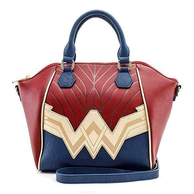 DC Comics Wonder Woman Justice League Cosplay Dome Handbag Satchel Purse
