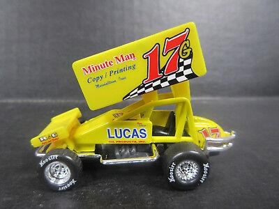 1//64th scale #17g Ricky Logan sprint car