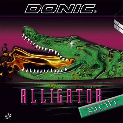 Donic Alligator Anti Revestimiento de Ping Pong