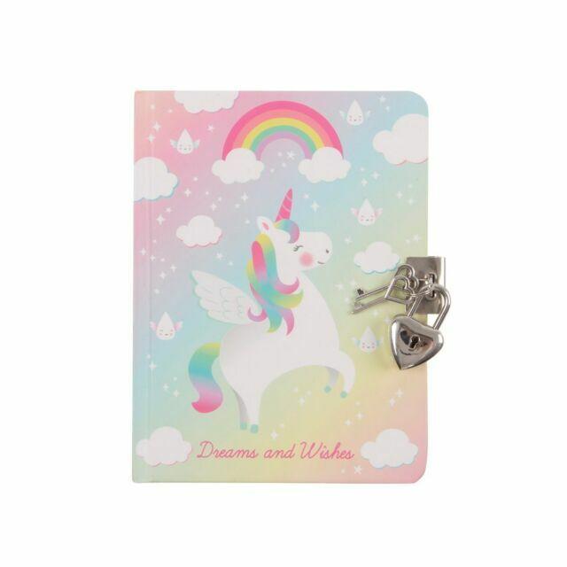 Notebook Notepad DIARY UNICORN Jotter girls Magic Rainbow party bag filler kids