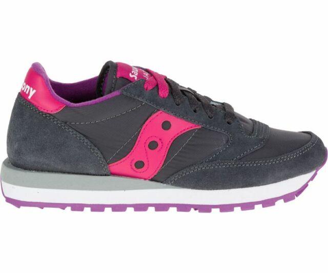 SCARPE SAUCONY JAZZ S1044 324 GrigioFucsia Sneakers 100% ORIGINALE DONNA