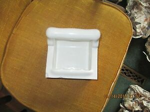Image Is Loading WHITE SOAP DISH HOLDER FOR SHOWER HANDLE FOR