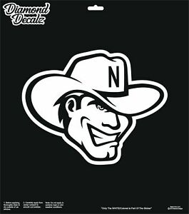 Nebraska Cornhuskers NCAA Decals Sticker Car Truck Vehicle Window Laptop Wall