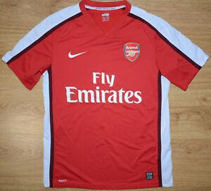ARSENAL-LONDON-2008-2009-2010-HOME-FOOTBALL-SHIRT-JERSEY-NIKE-SIZE-M-ADULT