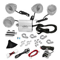 New Pyle PLMCA90 1200Watts Motorcycle Amp Weatherproof Speakers w/MP3/Ipod Input