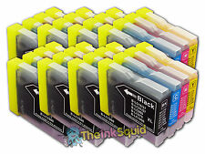 8 LC970 Bk/C/M/Y Ink Cartridges for Brother DCP-135C