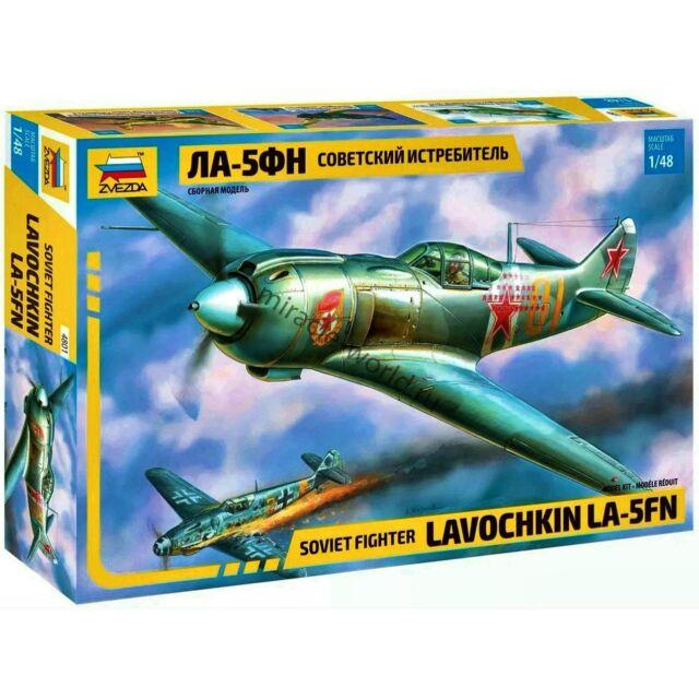 1:48 Zvezda #4801 Soviet Fighter Lavochkin La-5FN  Neuheit !