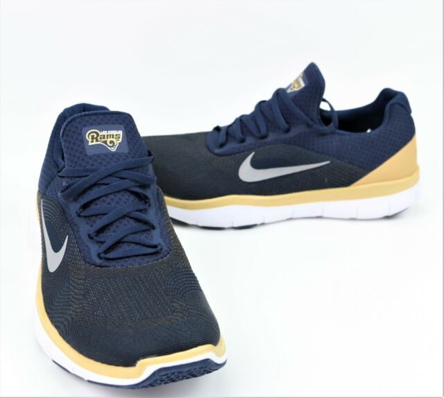 on sale a4f52 99d5d New Men s Los Angeles Rams Nike Free Trainer V7 Collection Shoes Size 12 NFL