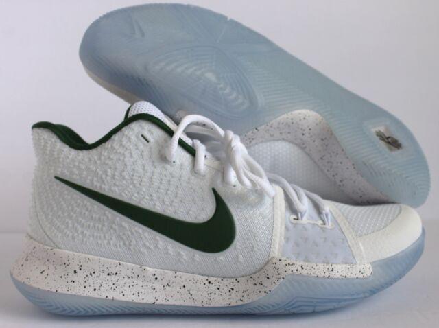 b8d0da078bf Nike Kyrie 3 ID White-green Sz 11 Speckle Aq8767-991 for sale online ...