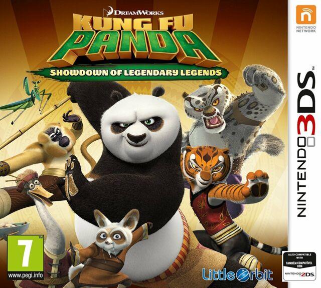 Kung Fu Panda-Confrontation du légendaire Legends pour UK/EU 3 DS (NEW & SEALED)