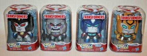 Lot de 4 Transformers Mighty Muggs-Optimus Megatron Bumblebee Starscream