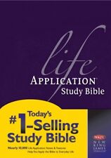 Life Application Study Bible by Tyndale House Publishers Staff and Life Application Study Bible Staff (2000, Hardcover)