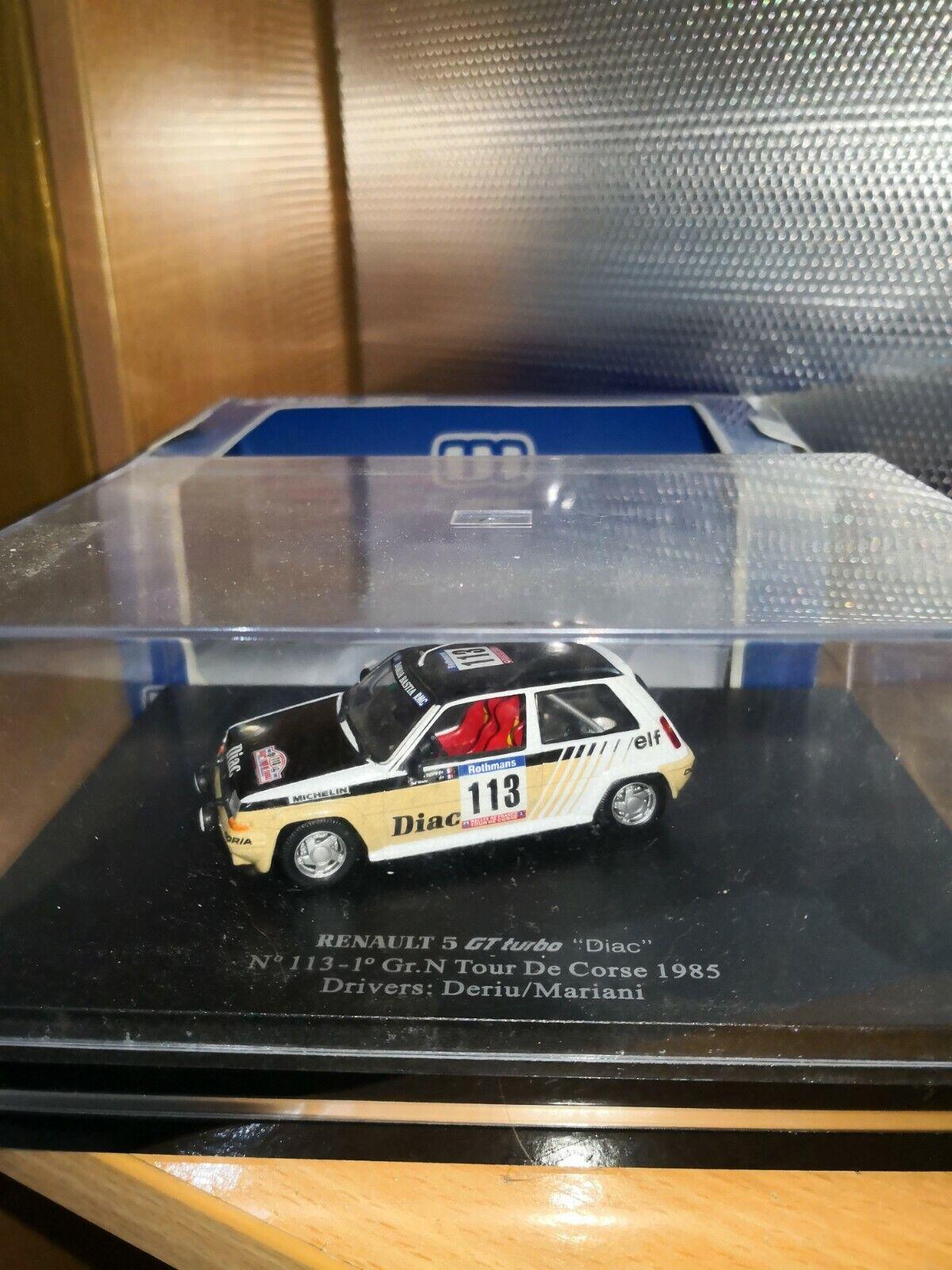 Renault 5 gt turbo 113 gr n tour de corse uh 1 43
