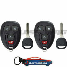2 Replacement for 2009-2016 Chevy Traverse : Key Entry Fob Remote Set 4b