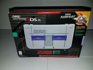 Details about SNES New Nintendo 3DS XL (Rare Collectable)