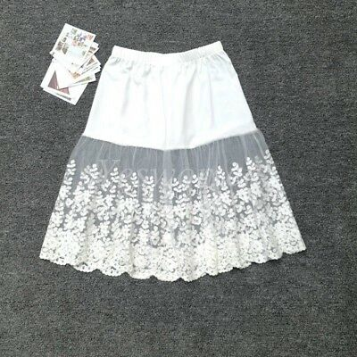 Skirt Extender Slip,Dress Extender Slip black-WITH LENGTH OPTION