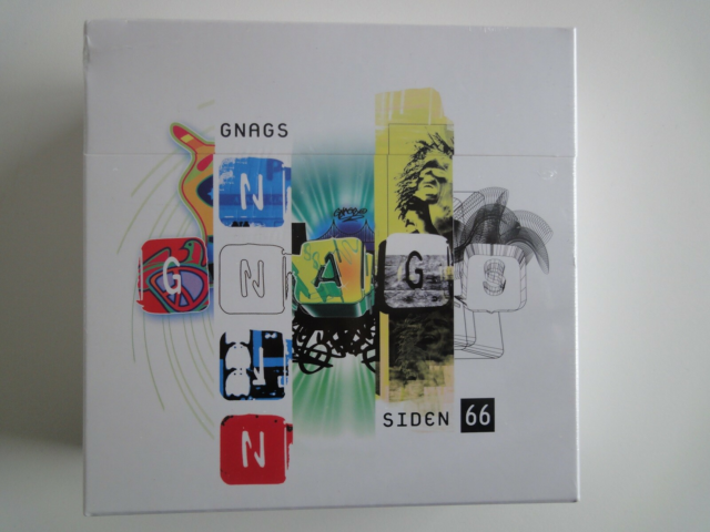 Gnags: Siden 66, pop, Box med 5 cd'er og 1 dvd. Ubrugt i…