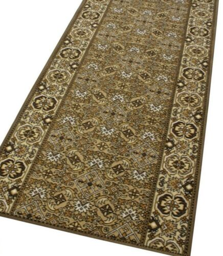 """Distinguished Aisle Carpet /""""AW orient Allover Herati sample/"""" light brown"""