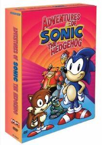 Nuevo-aventuras-de-Sonic-The-Hedgehog-4-Discos-Dvd-Set-con-caracteristicas-de-bonificacion