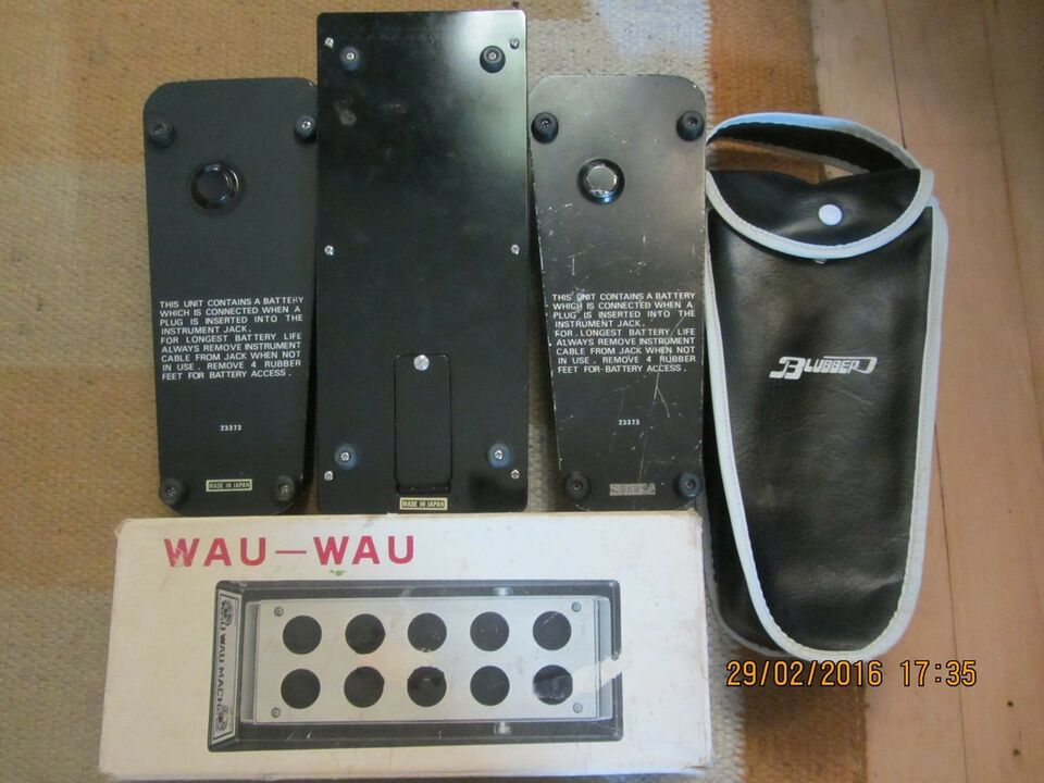 Wah-Wah Vintage, Ibanez Standart, Blubber Crying Baby