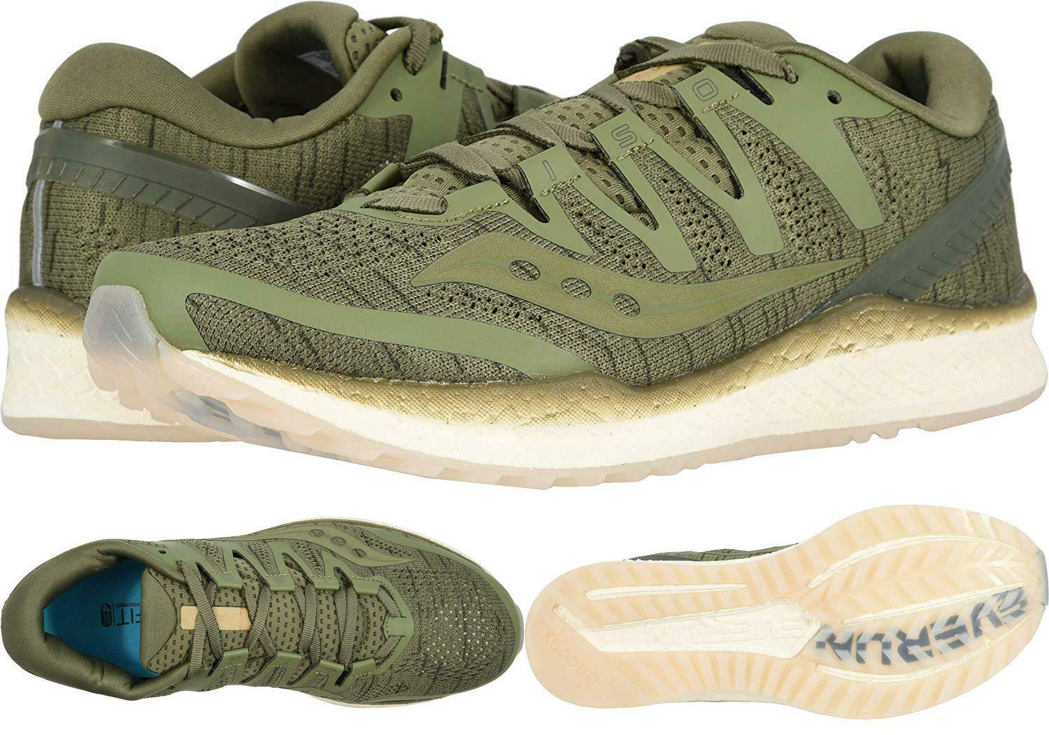 Saucony Men'S Freedom Iso¿ Olive Shade 7.5 D Us