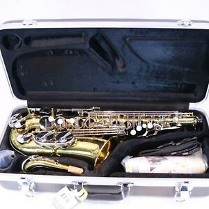 Jupiter-Model-JAS-710GNA-Student-Alto-Saxophone-SN-YF55581-OPEN-BOX
