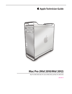 apple mac pro mid 2010 mid 2012 technician guide service manual ebay rh ebay com mac pro 2012 service manual mac pro mid 2012 manual