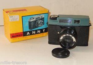 APPAREIL-PHOTO-ANNY-120-Film-pour-LOMOGRAPHIE-avec-sa-BOITE-D-039-ORIGINE-BOUCHON