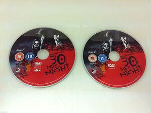 Josh-Hartnetts-30-Days-Of-Night-DVD-R2-DISCS-ONLY-Sleeved