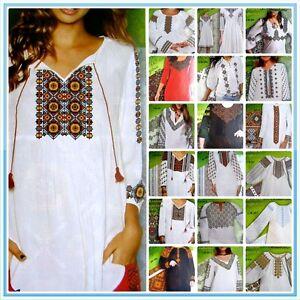 Ukrainian-Vyshyvanka-Embroidery-Women-Shirt-Cross-stitch-Pattern-Borders-SV-2