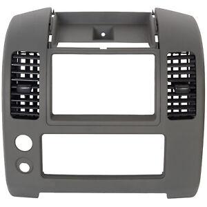For 06-16 Nissan Frontier Center Dash Console Instrument Panel Cluster Lid Bezel