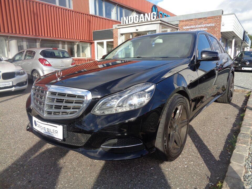 Mercedes E200 2,2 CDi aut. Diesel aut. Automatgear modelår