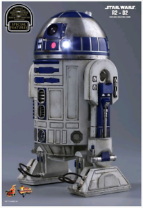 Star Wars Hot Toys Force Awakens R2-D2 1 6 Scale Figure HOTMMS408