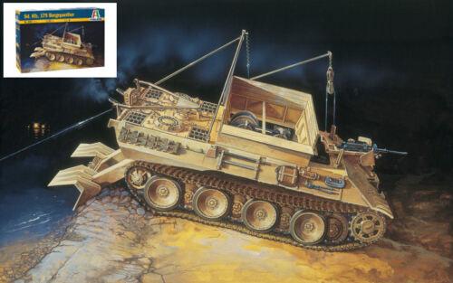 Sd.kfz 179 Bergepanther Plastic Kit 1:35 Model 0285 ITALERI