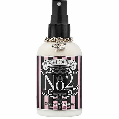Poo-Pourri Before-You-Go Essential Oil Bathroom Spray - No. 2 - 4 oz.