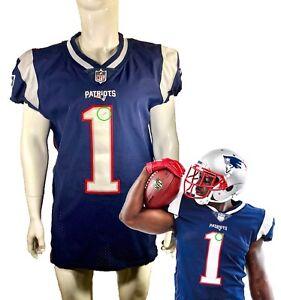 cc0f58fb30a Sony Michel Rookie Event Worn New England Patriots NFL Jersey Like ...