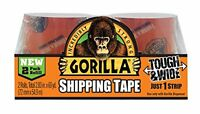 Gorilla Packaging Tape Refill, 30 Yd(2), New, Free Shipping on sale