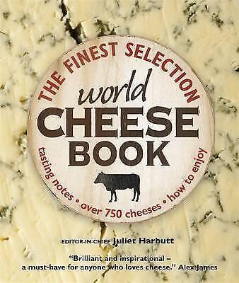 """1 of 1 - World Cheese Book, Juliet Harbutt """"BRAND NEW"""""""