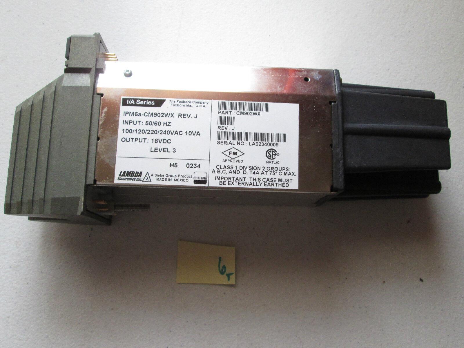 FRESH TAKEOUT FOXBgold I A SERIES IPM6A-CM902WX REV J CM902WX POWER MODULE  (312)