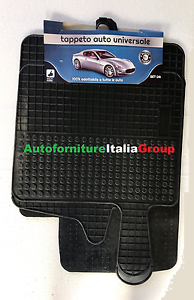 TAPPETI TAPPETINI IN GOMMA 2 PEZZI SMART 450 FORTWO 98/>07 1998/>2007