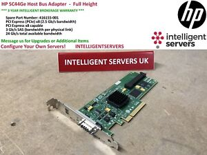 HP SC44GE HOST BUS ADAPTER DRIVERS FOR PC