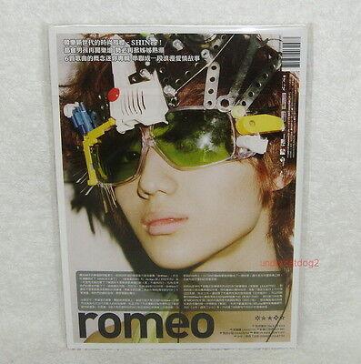 Korea IDOL SHINee 2nd Mini Album Romeo Taiwan CD TAEMIN Ver.