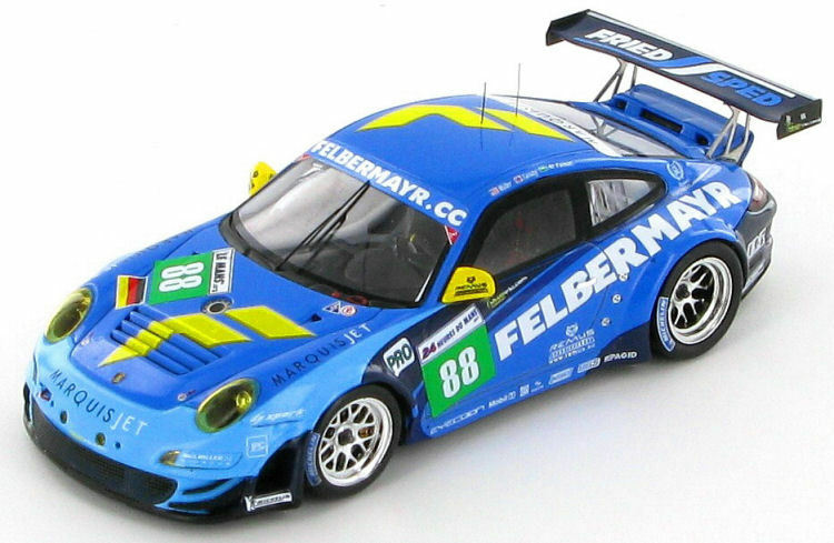 Porsche 911 (997) GT3 RSR Felbermayr  88 Le Mans 2011 1 43 - S3420