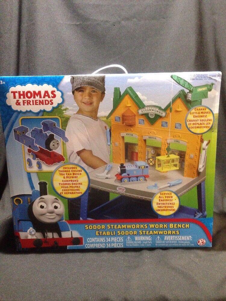 Thomas & Friends Sodor STEAMWORKS Work Bench new in box. 2016 par le pont